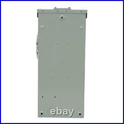 100 amp 240-volt fusible outdoor general-duty safety switch