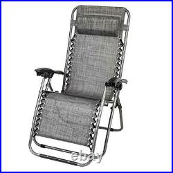 3 Pcs Zero Gravity Chair Patio Chaise Lounge Adjustable Chairs Recliner Yard New