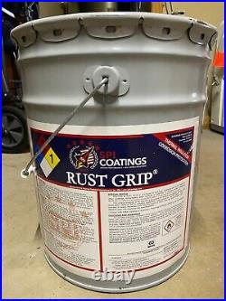 5 Gallon Rust-Grip Paint Silver/Gray Perfect for metal roofs any other metal