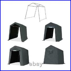 6x8 ft Outdoor Storage Shelter Shed Heavy Duty Anti-snow Garage Car Tent Carport