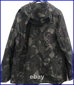 BELSTAFF x SOPHNET Sz 52 Gray Camouflage Hooded Nylon Weather Resistant Jacket