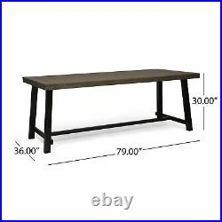 Bowman Outdoor Eight Seater Dining Table