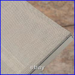 Cherie Modern Outdoor Gray Mesh Chaise Lounge with Wheels