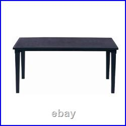 Futura Keter table in graphite polypropylene cm 165x94x74 for outdoor use