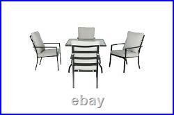 Outdoor Dining Set For 4 Patio Furniture Set Deck Porch Table And Chairs Set