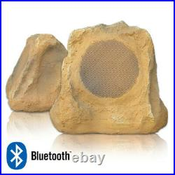 Outdoor Rock Speakers With Bluetooth FREE Rok Canyon Sandstone