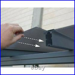 RV Storage Canopy Carport Awnings Patio Cover Boat Polycarbonate Roof 16x 10 x 7