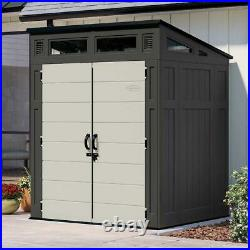 Suncast 6' x 5' All Weather Modern Storage Shed with Windows @@